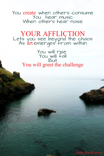 your affliction