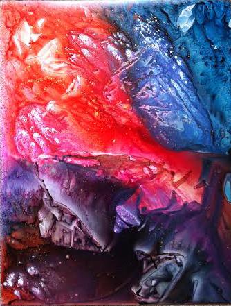 Nebula V in watercolor