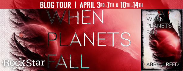 WHEN PLANETS FALL Rockstar Book Tour Schedule!